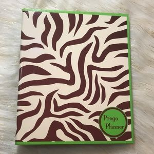Green & Brown Prego Planner